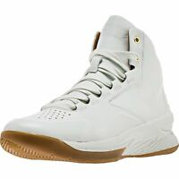 Under Armour Curry 1 Mid Lux Men's White Gum 1298700 100