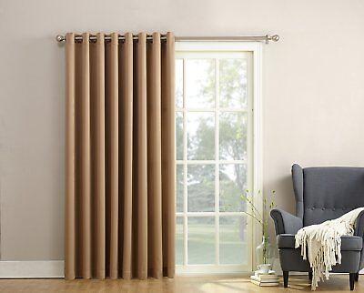 Sun Zero Groton Thermal Single Curtain Panel Sunz102414261103 Ebay