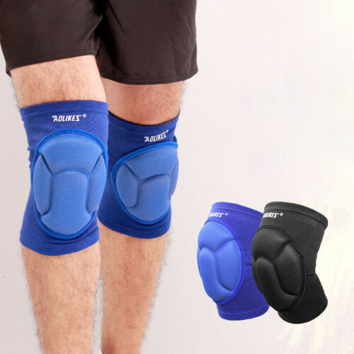 1Pairs Sport Knee Brace Guard Protector Heavy Duty Work Wear Knee Pads Support