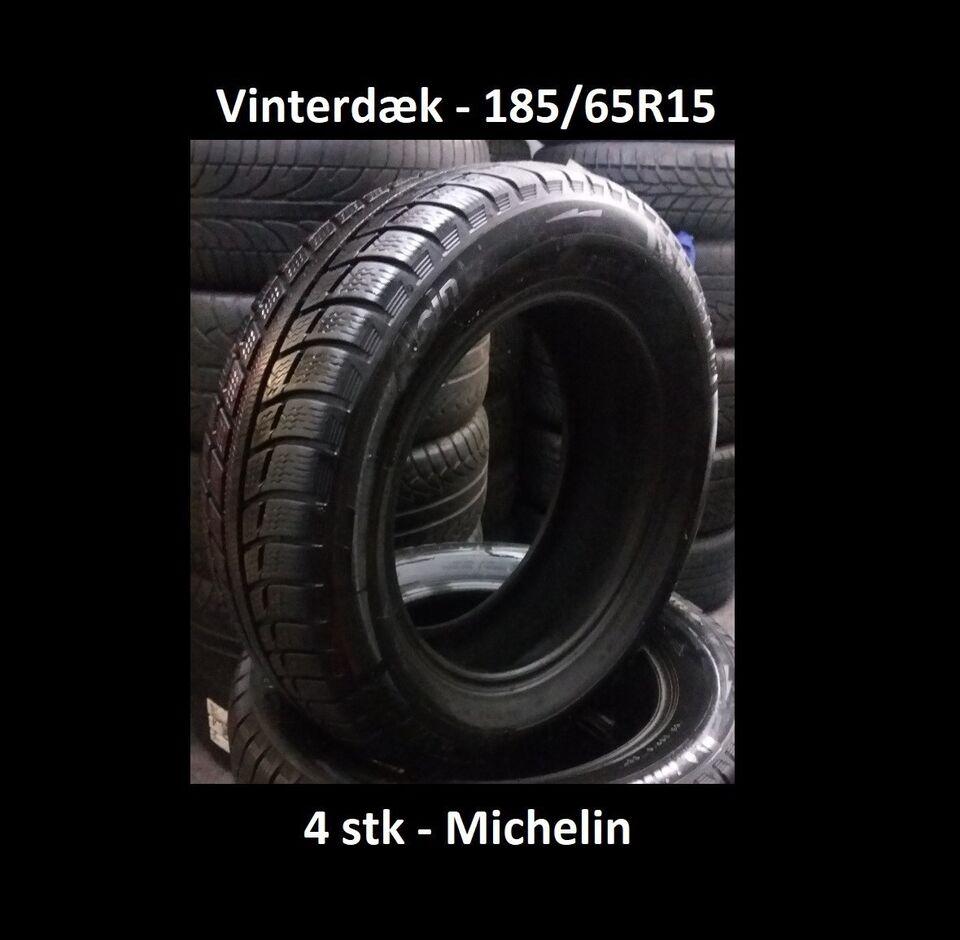 Vinterdæk, Michelin, 185 65 R15