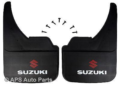 Universal Car Mudflaps Front Rear Suzuki Logo Cappucino Jimny Mud Flap Guard