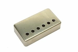 Humbucker-Pickup-cover-NON-plated-RAW-nickel-silver-50mm-pole-spacing