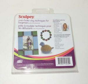 Sculpey-DVD-Techniques-How-to-Polymer-Clay-Jewelry-Tips-Projects-Figures-Tools