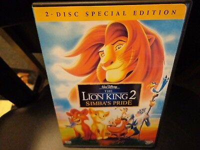 The Lion King 2 Simbas Pride Special Edition Dvd 2004 2 Disc Set Ebay
