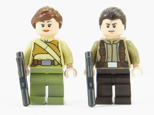 7 Minif LEGO Star Wars Force Awakens Minifigures Lot of 2 Resistance Soldier Ep