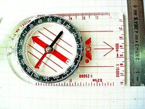 Lot 2 Copass Orienteering Boussole Compas Orientation Militaire Scout Carte Ycm