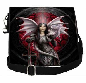 Anne-Stokes-Embossed-Shoulder-Bag-featuring-Valour-design