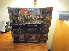 """STAR WARS """"WALMART"""" EX 2012 (STARSHIP DROID'S/MOS ESPA 5-PACK'S)!!"""