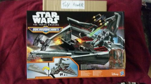 STAR WARS MICROMACHINES primo ordine Star Destroyer VENDITA £ 9.99