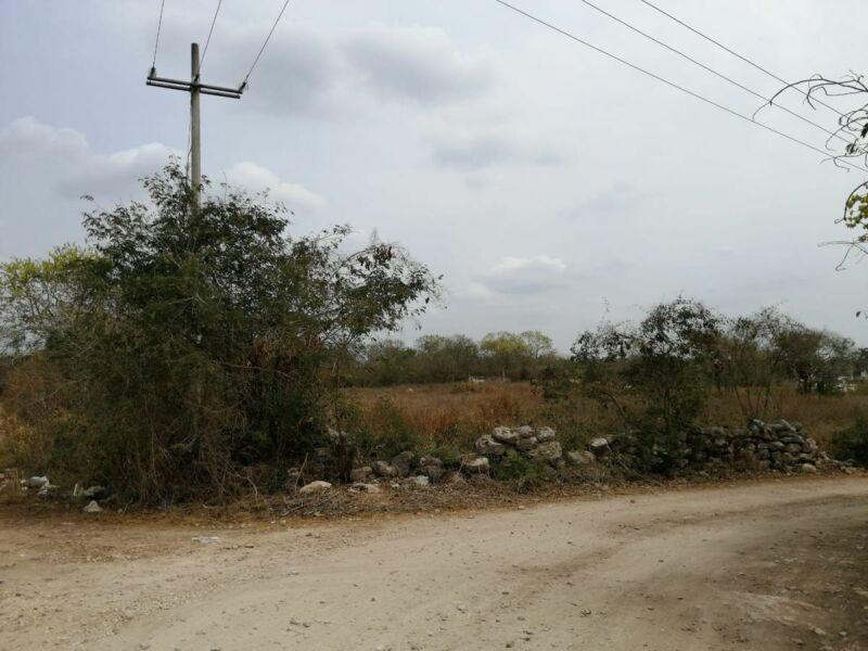 Terreno en venta al norte en Conkal