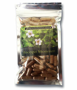 Bacopa-Monnieri-Extract-400mg-10-1-30-90-Vegetarian-Capsules