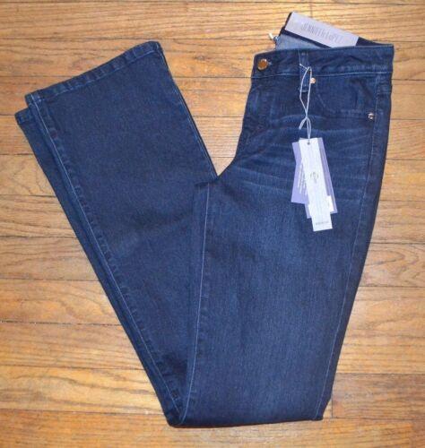 Jennifer Lopez Bootcut Jean Denim Jeans Mid Rise Slim Through Hip thigh Moselle
