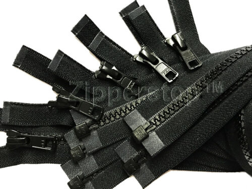 36 Inches Vislon Zipper YKK #5 Medium Weight Molded Plastic Separating Made USA