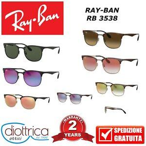 RAY-BAN-RB-3538-RAYBAN-OCCHIALE-DA-SOLE-OCCHIALI-UOMO-DONNA-POLARIZZAT-SPECCHIO