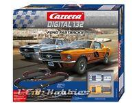 Carrera Digital 132 Ford Fastbacks Slot Car Race Set 30194