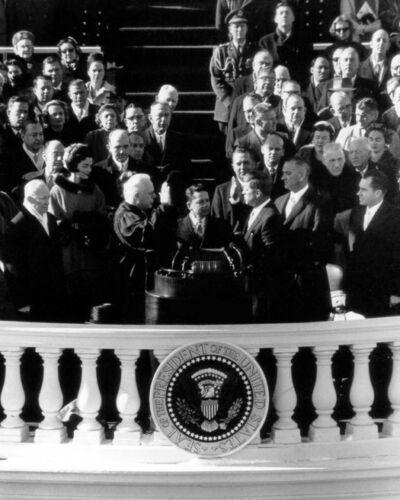 35th US President JOHN KENNEDY Glossy 8x10 Photo 1961 Inauguration Poster Print