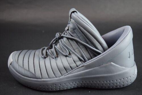 New GS Kids Nike Jordan Flight Luxe Shoes 919716 003 sz 5Y-7Y Cool Wolf Grey