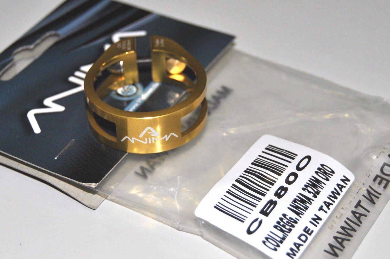 Collarino Reggisella ANIMA Alluminio Superleggero Superleggero Superleggero Oro SEAT CLAMP ANIMA GOLD a6fd33