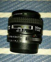 Nikon Nikkor 50 mm F/1.4 D AF Objektiv 50mm 1,4 Festbrennweite wie neu