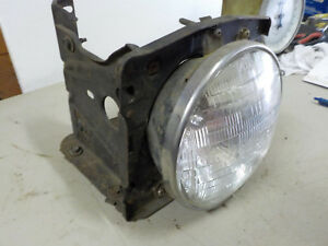 71 72 73 Mustang Left Driver Side Head Light Headlight Bucket 1971 1972 1973