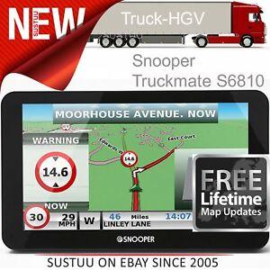 Snooper-Truckmate-S6810-EU-7-034-HGV-Commercial-GPS-SatNav-Air1-Lifetime-Europe-Map