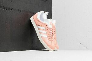 NEW-IN-BOX-120-WOMEN-ORIGINALS-GAZELLE-SHOES-AQ0904-CLEAR-ORANGE-CLOUD-WHITE