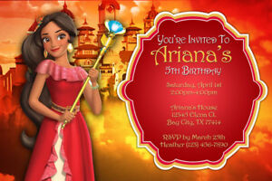 Image Is Loading Princess Elena Of Avalor Invitations Birthday Party Shipped