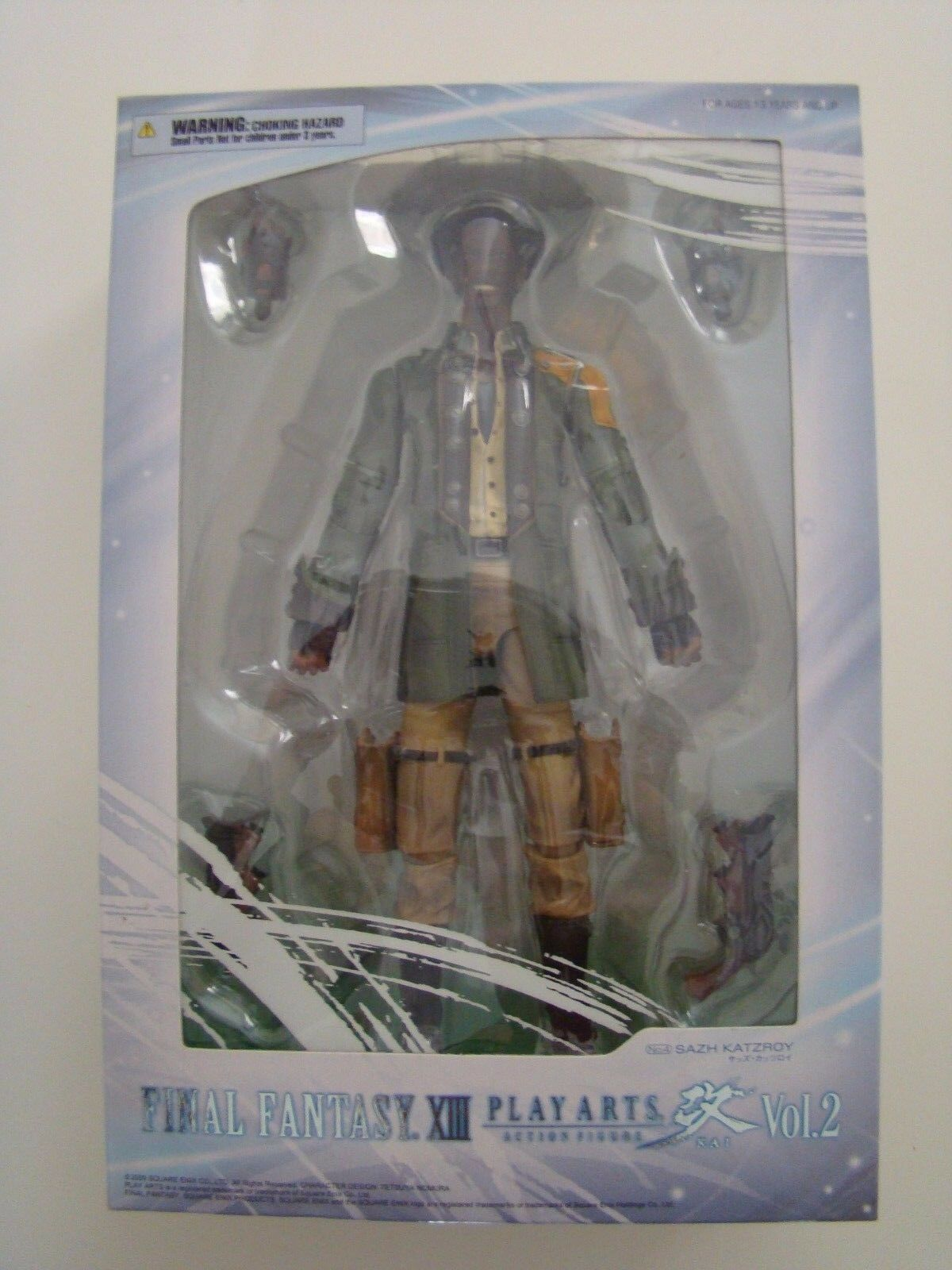 Figurine play arts kai final fantasy 13 FFXIII sazh katzroy