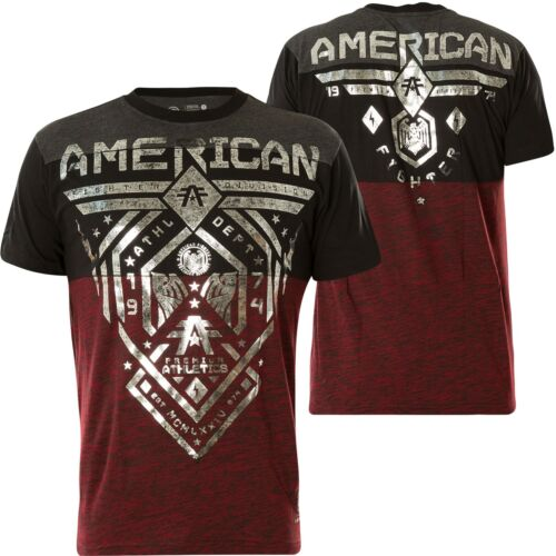 American shirt Fairbanks PourpreNoir Tee Fighter Affliction W2HIYeD9Eb