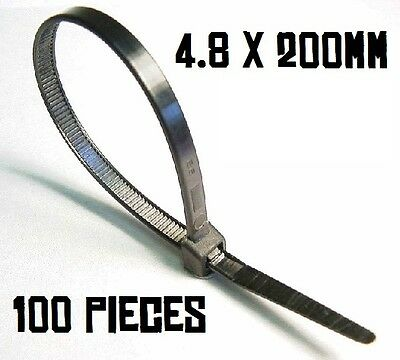 Fein Partex 4.8 X 200mm Cable Ties. 100 Pack. High Quality, Branded Ties Seien Sie Im Design Neu