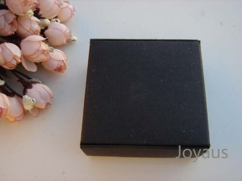 24 Black Favour Boxes Gift Wedding Birthday Chocolate Bomboniere Soap Candle Box