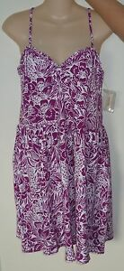 Womens-AEROPOSTALE-Floral-Convertible-Strapless-Dress-NWT-5062