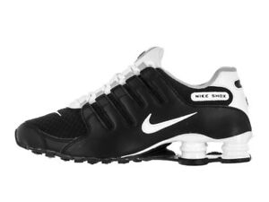 official photos fd723 3d8be Image is loading Nike-Men-Shox-NZ-SE-Running-Shoe-Black-