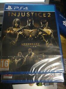 Jeu Ps4 Injustice 2 Legendary Édition Neuf Sous Blister Pal FR