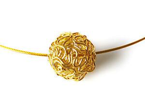 A Sign *Frozen Gold* Edelstahl-Halsreif / Halskette Kette Filigrane ...