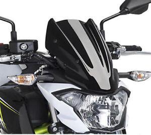 BULLE-SAUTE-VENT-KAWASAKI-Z650-2017-2018-2019-NOIR-Streetmotorbike
