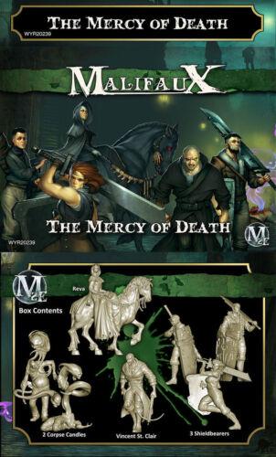 Malifaux Resurrectionists The Mercy Of Death WYR 20239 Reva Crew