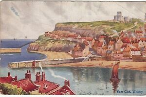 Postcard-East-Cliff-Whitby-Ref-A20