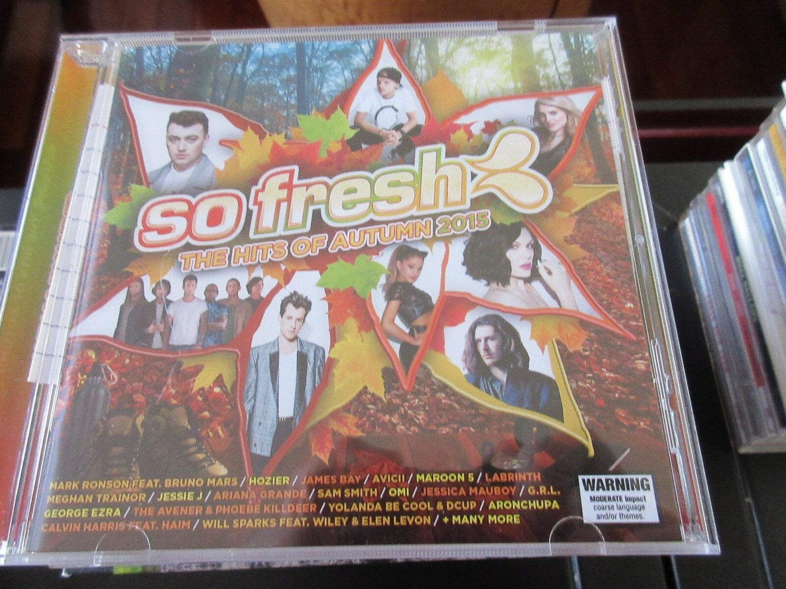 So Fresh , The Hits Of Autumn 2015 , CD