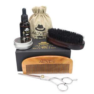 Best Men Grooming Care Kit Moustache Wax Beard Balm Beard Oil Comb