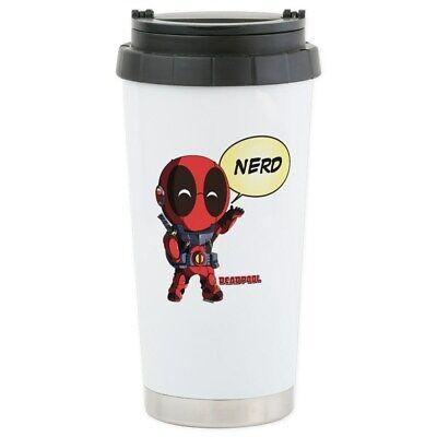 259935275 CafePress Deadpool Maximum Stainless Steel Travel Mug