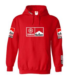 Classic Marlboro Yamaha Team Inspired Design Hoody Hoodie Shirt