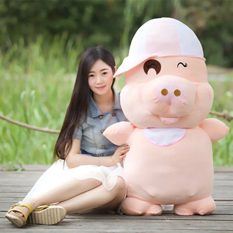 40  Giant Big Fat Pig Plush Stuffed Animals Toy Doll Birthday Gift For Kids Gift