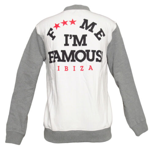 Logo Atletiek Me Grey Guetta Marl Ibiza 120 White I'm F Retro Famous jas £ Teddy Rrp 8qqzpw1
