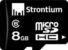 Strontium Class6  8GB  Micro Sd 8 GB Memory Card