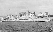 ROYAL NAVY H CLASS DESTROYER HMS HAVOCK - BATTLE OF MATAPAN - WWII