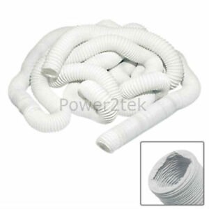 """Beautiful Vent Hose 10cm X 15m For Hotpoint Tl51a Tl51p Tl51w Tumble Dryer 4"""""""