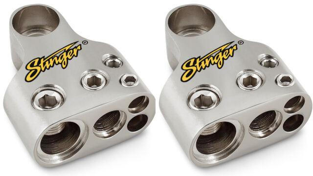 Stinger SPT55302 Multi GM Battery Terminal 1 1 8 Gauge Outputs 4 Gauge and 1//0 Gauge 2
