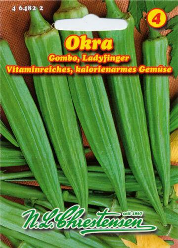 Okra,Gombo,Ladyfinger,Saatgut,Abelmoschus esculentus,Gemüse,464822,NLC 4a