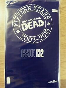 WALKING-DEAD-132-NM-15-YEAR-ANNIVERSARY-BLACK-POLYBAGG-SEALED-PA11-349